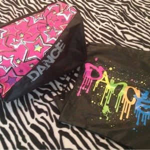 Brand new, never used Dance bags